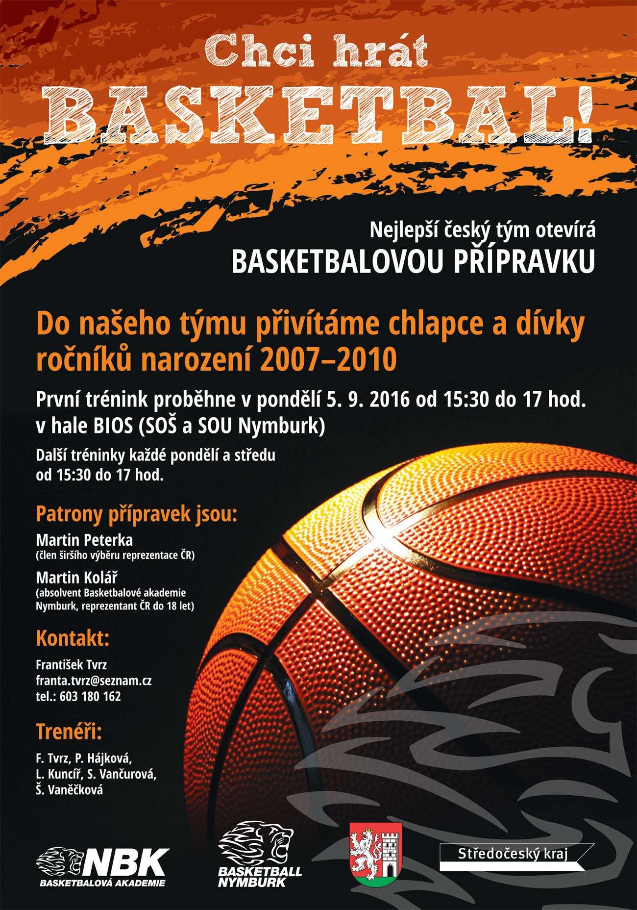 Plakát Přípravka 2016/17