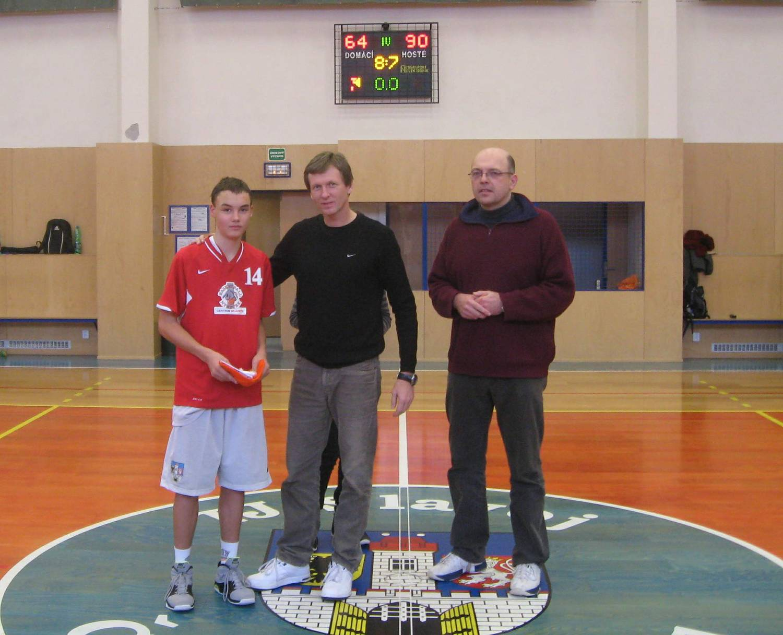 U15 - utkání v České Brodě - nejlepší hráč Nymburka