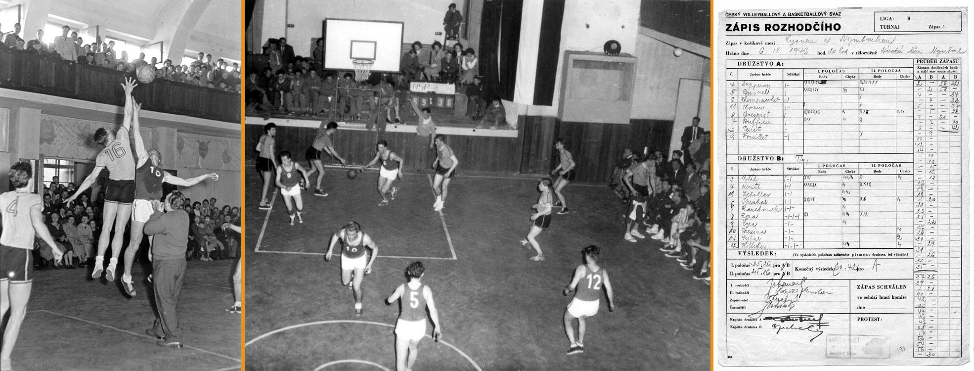 Rok 1946 - mezinárodní zápasy